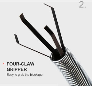 Multifunction Sink and Drains Cleaning Claws