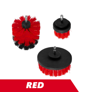 3-Piece Cleaning Brush Set for Drill