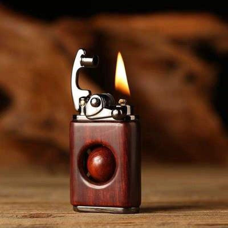 LuxLight Vintage Rosewood Wooden Lighter