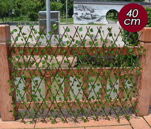 Evergreen Retractable Garden Fence