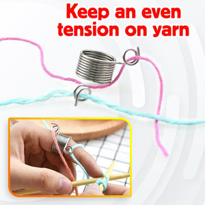 KTMX Yarn Guide Knitting Thimble Ring