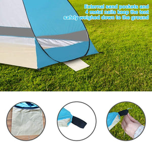 Breathable Pop Up Tent