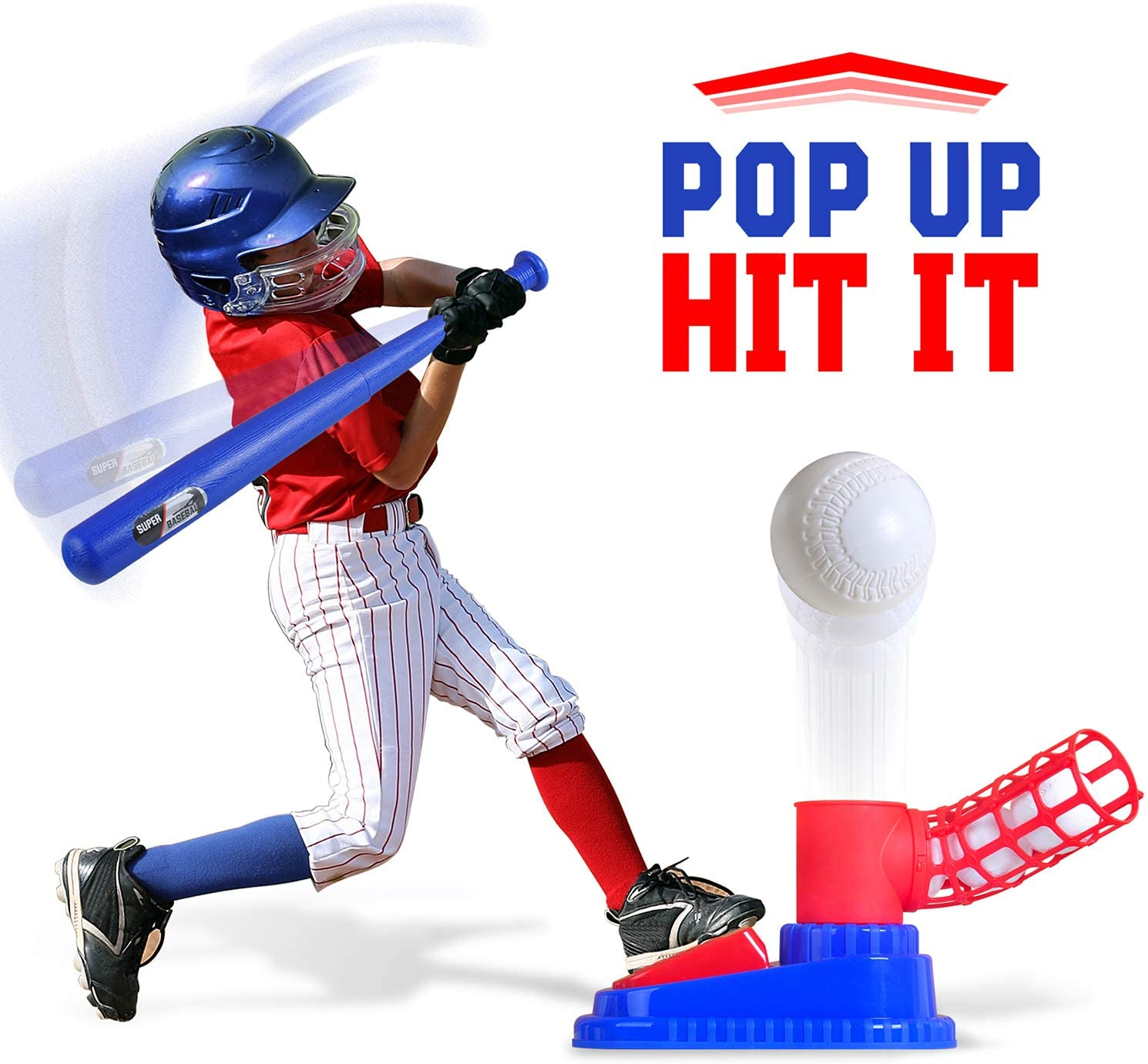 MLBKid Automatic Baseball Pitching Machine