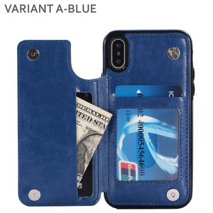 MultiCard+ Leather Phone Case