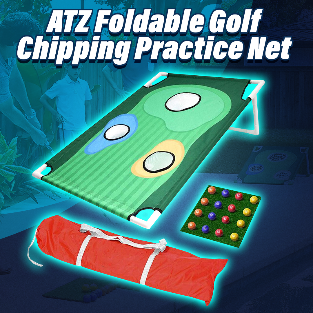 ATZ Foldable Golf Chipping Practice Net