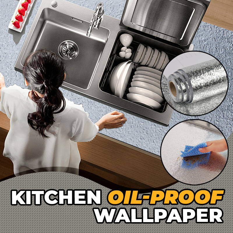 Kitchen Oil-proof Wallpaper
