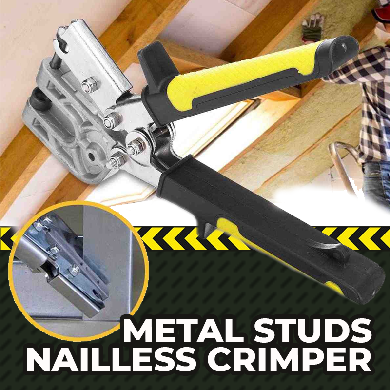 Metal Studs Nailless Crimper