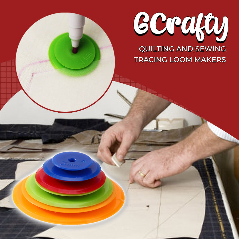 GCrafty Quilting and Sewing Tracing Loom Makers