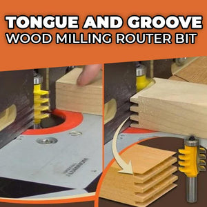 Tongue & Groove Assembly Router Bit