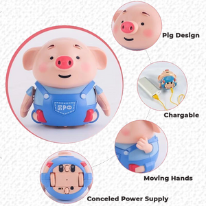 Pen Inductive Tiny Pig Toy