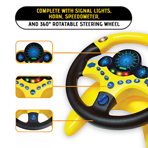 Kid's Driving Simulation Steering Wheel