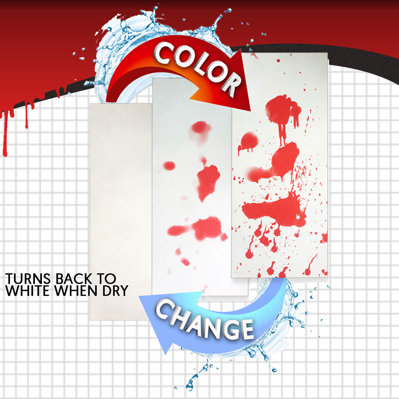 Holidayz Bleeding Color Changing Bathroom Mat