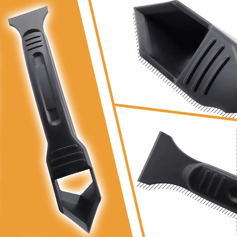 Multifunctional Construction Metal Squeegee