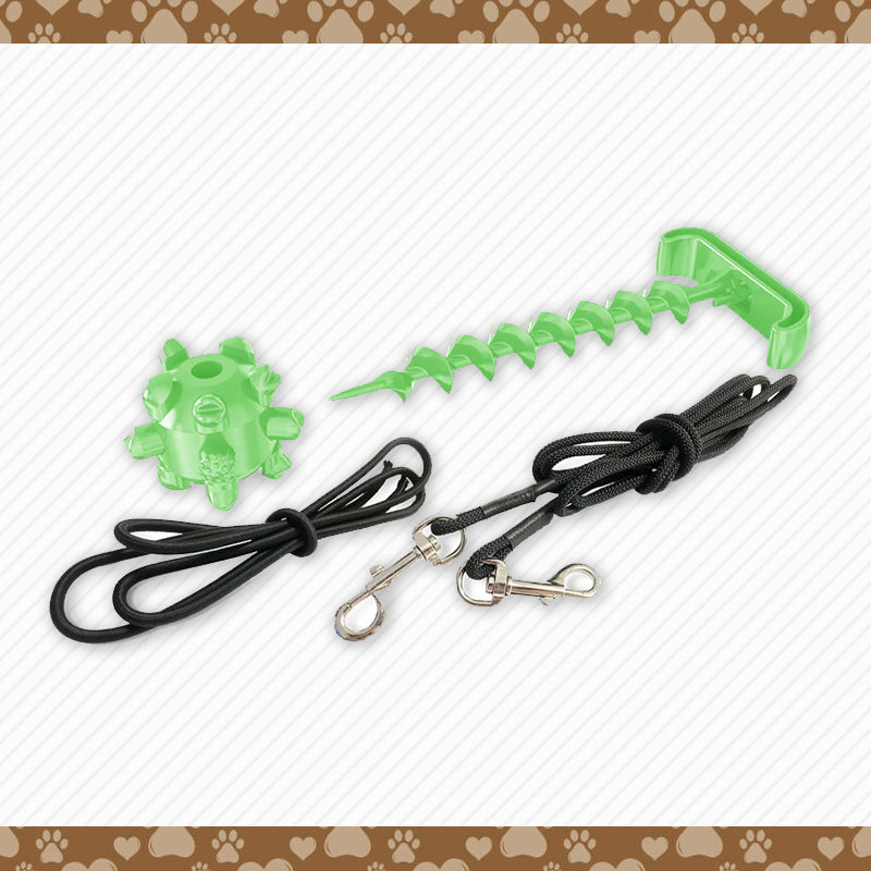 Portable Outdoor Dog Peg Toy