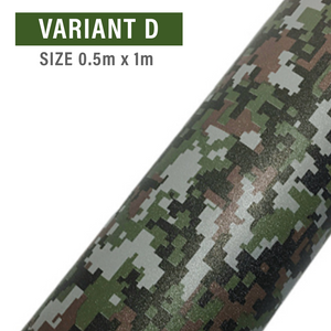 Matte Self-Adhesive Camouflage Film Wrap