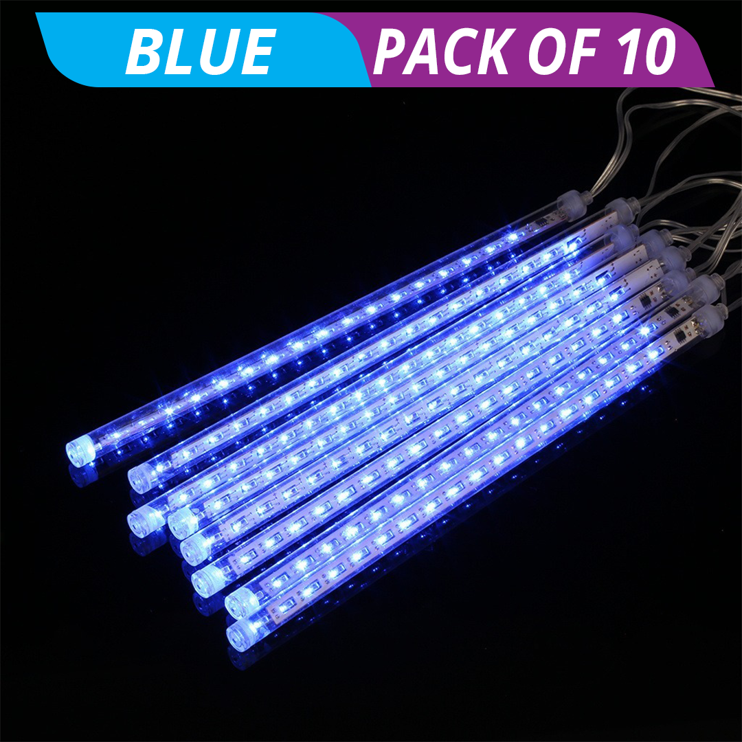 HolidayFX Cascading Snow Falling LED Lights