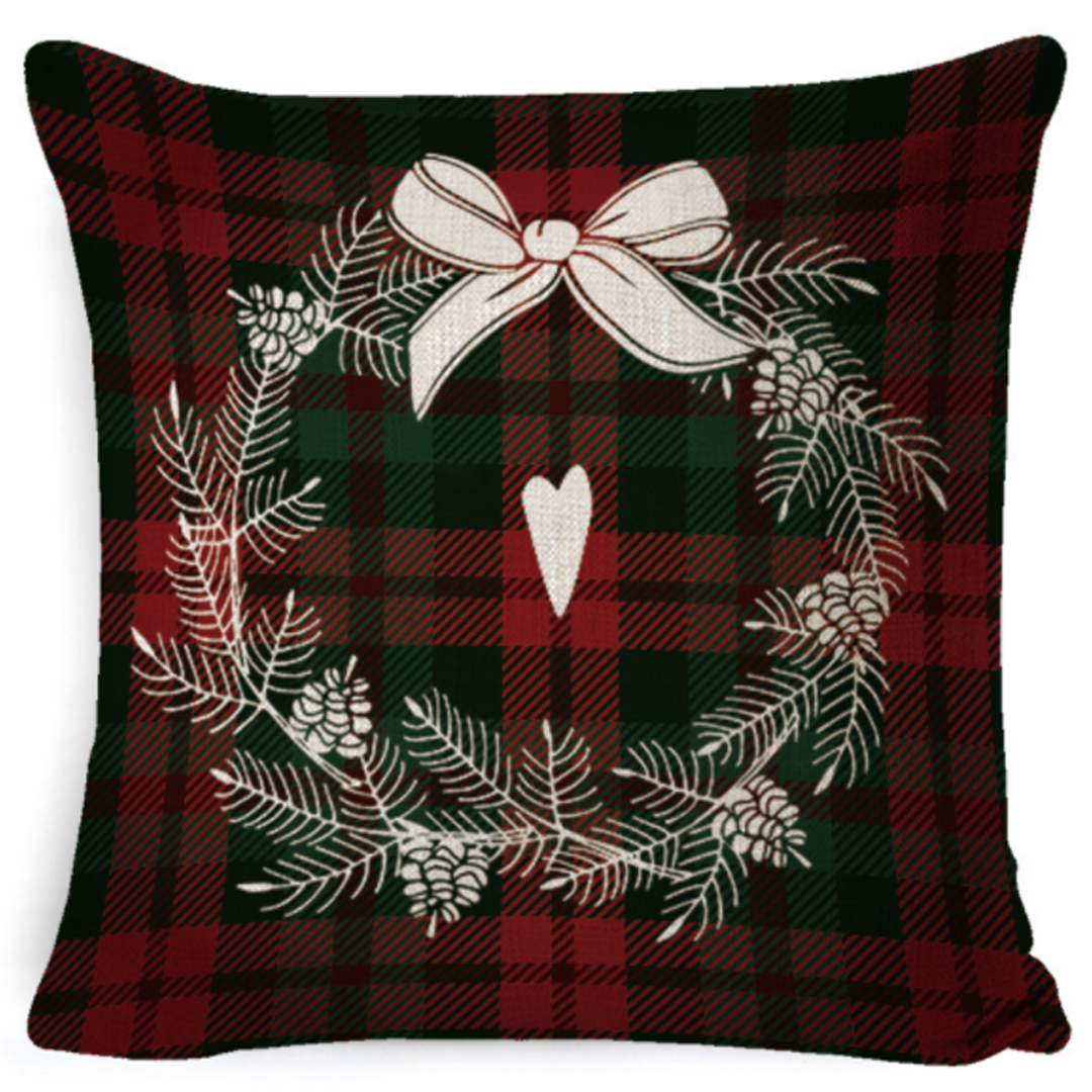DECORate Christmas Theme Pillowcase