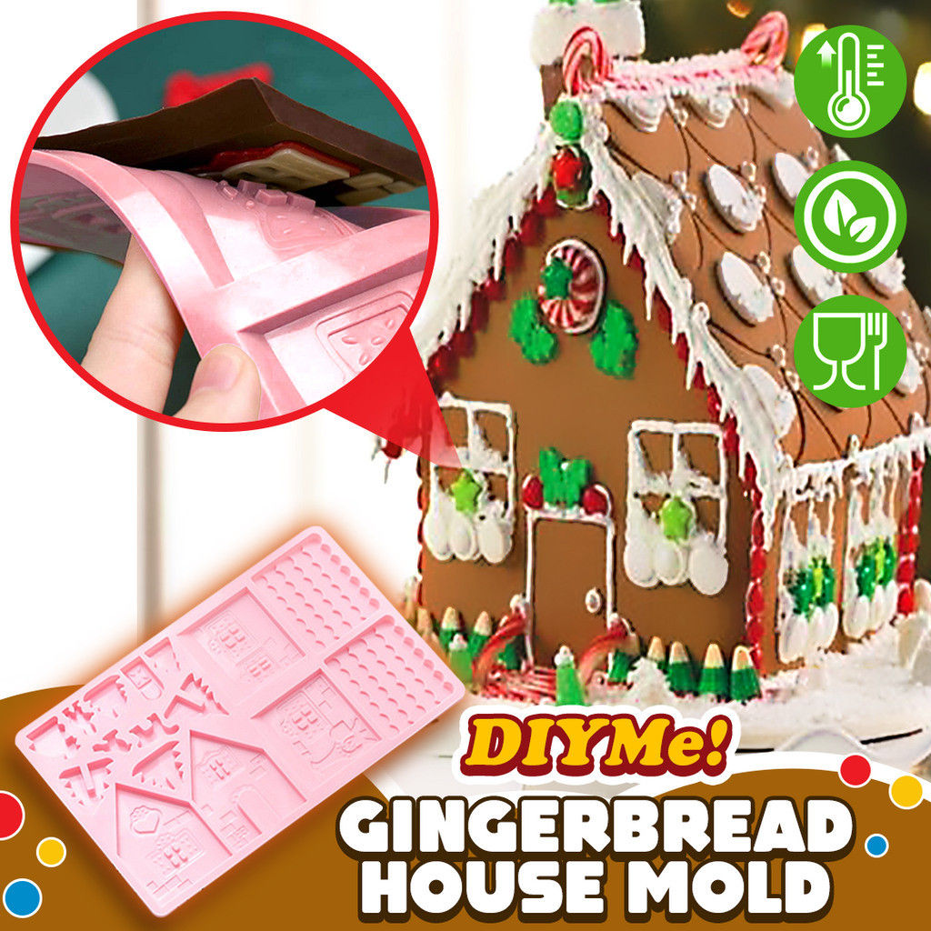 DIYMe! Gingerbread House Mold - Up to 30% Off!
