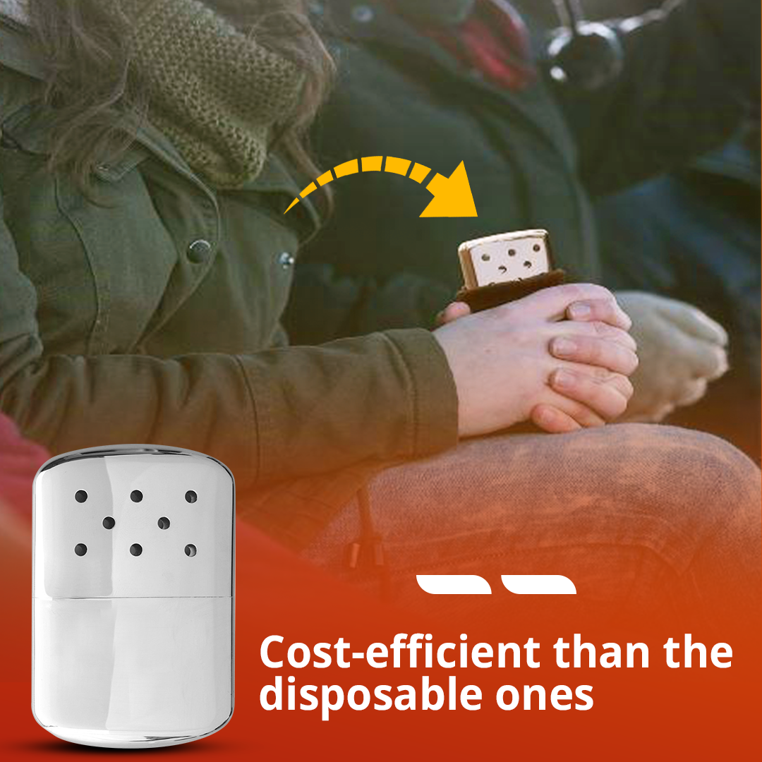 DKM Refillable Pocket Hand Warmer