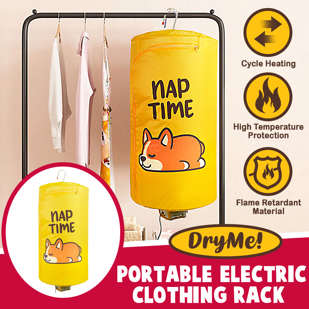 DryMe! Portable Electric Clothing Rack
