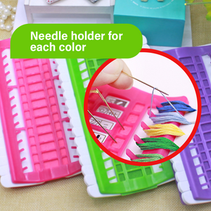 Embroidery Floss Thread Organizer