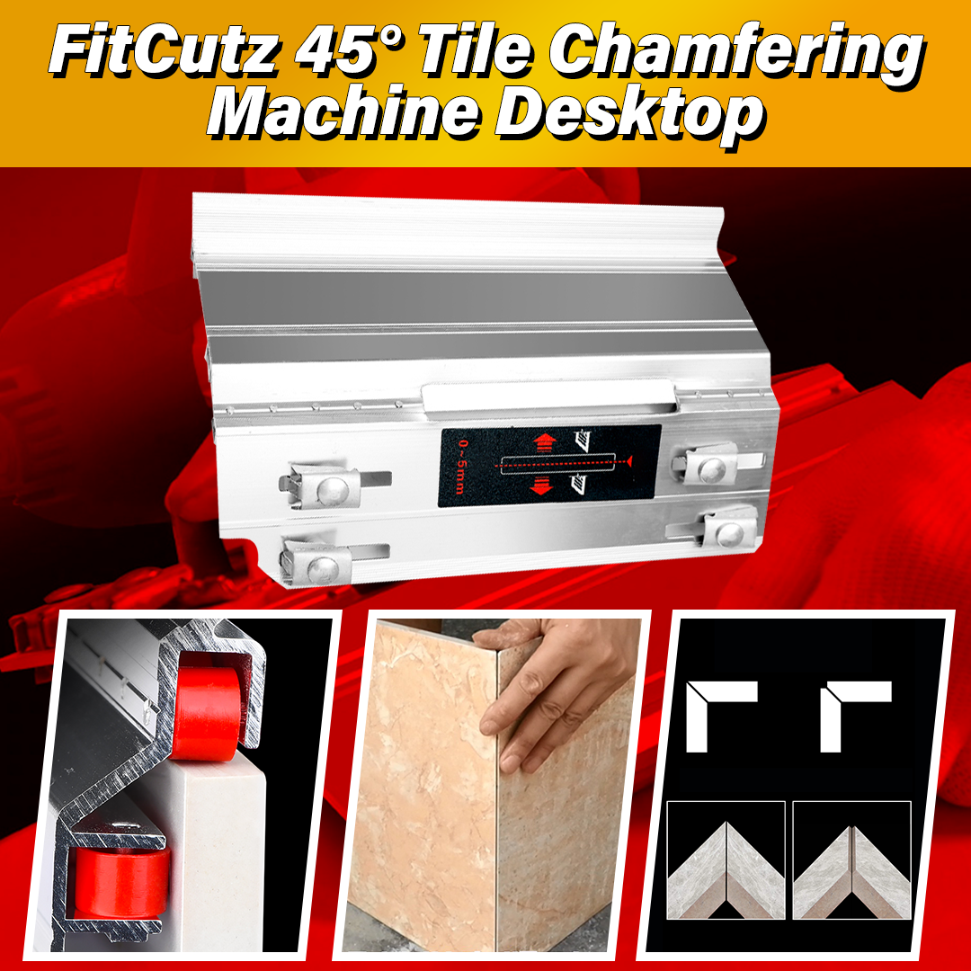 FitCutz 45° Tile Chamfering Machine Desktop