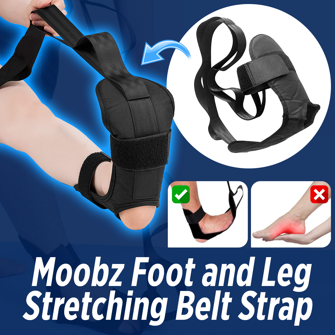 Moobz Foot and Leg Stretching Belt Strap