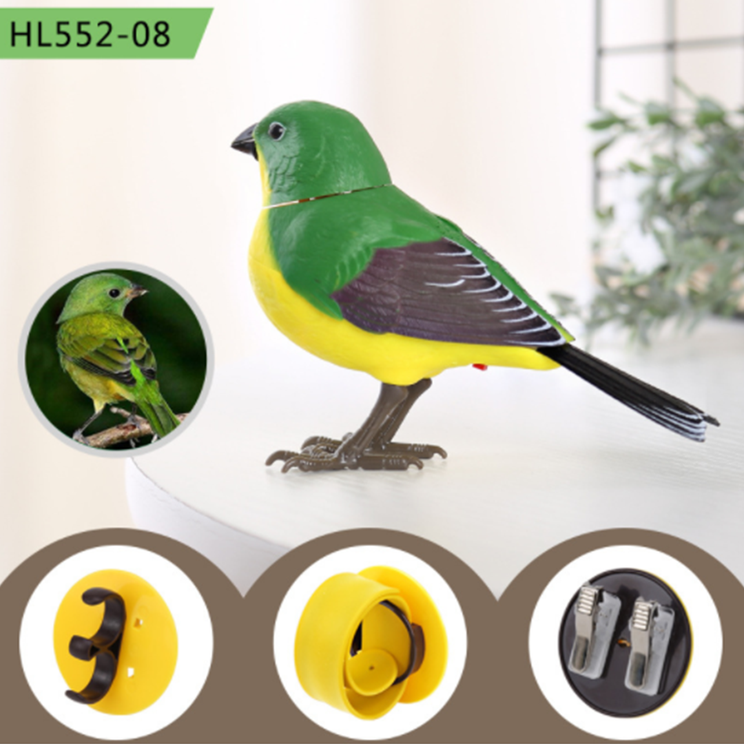 SmartPet Chirping & Singing Bird