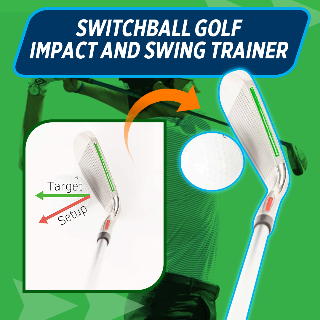 Switchball Golf Impact and Swing Trainer