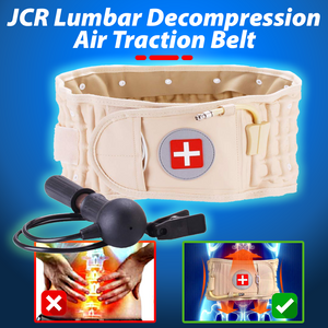JCR Lumbar Decompression Air Traction Belt