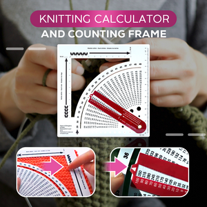 Knitting Calculator and Counting Frame