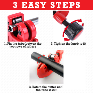 LuxTools Adjustable Tube Pipe Cutter