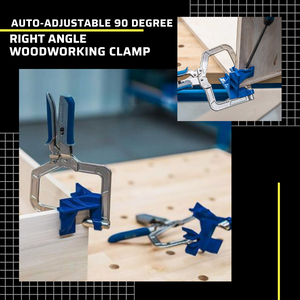 New Auto-adjustable 90 Degree Right Angle Woodworking Clamp