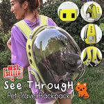 See Through Pet Travel Backpack