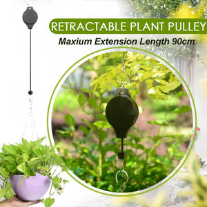 Retractable Plant Pulley Set