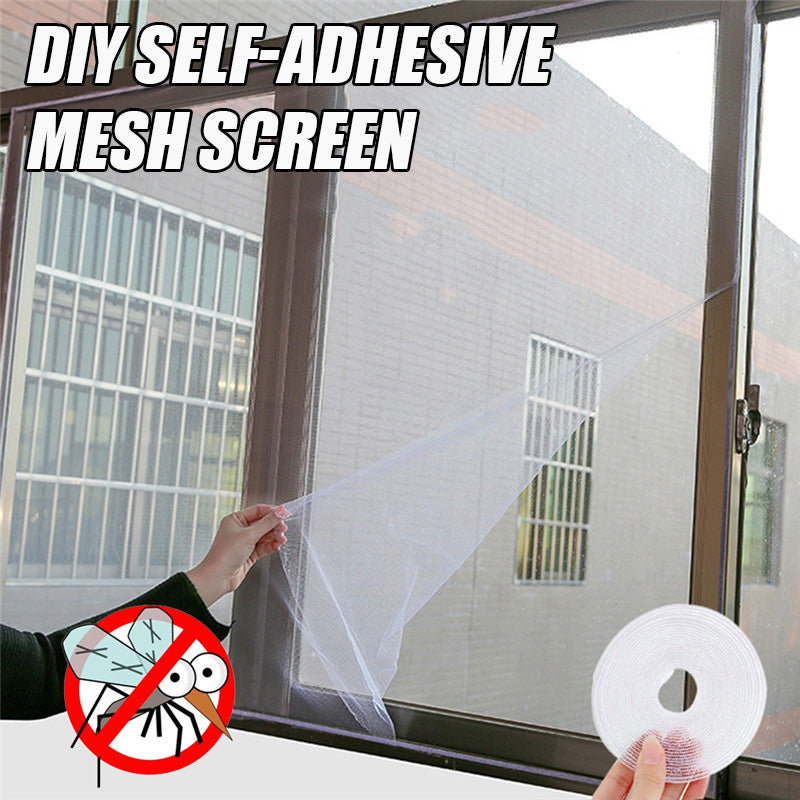 DIY Self-Adhesive Mesh Screen