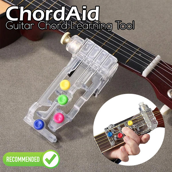 ChordAid - Guitar Chord Learning Tool