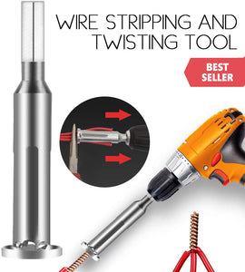 Wire Stripping And Twisting Tool (3Pcs/Set)