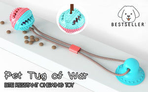 Pet Tug of War Bite Resistant Chewing Toy