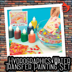 Hydrographics Water Transfer Painting Set