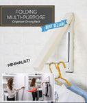 Folding Multi-purpose Organizer Drying Rack