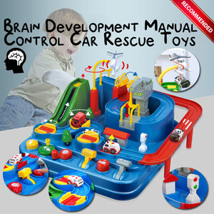Brain Development Manual Control Car Rescue Toys