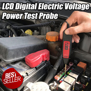 LCD Digital Electric Voltage Power Test Probe