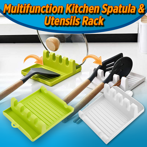 Multifunction Kitchen Spatula & Utensils Rack