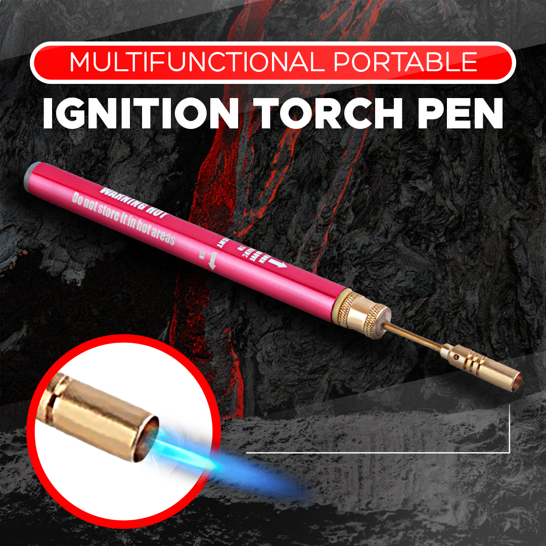 Multifunctional Portable Ignition Torch Pen