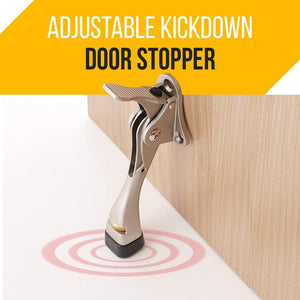 One-Push Semi-automatic Door Stopper
