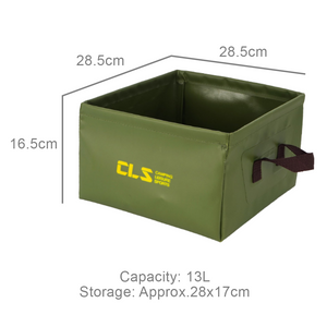 Outdoor Folding Square Camping Bucket