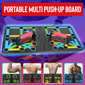 BodyFlex 9-in-1 Foldable Push Up Board
