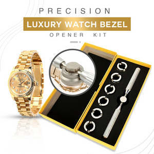 Precision Luxury Watch Bezel Opener Kit