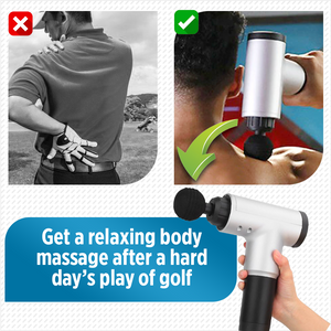 RxMuscle Hand-held Deep Tissue Percussion Massager